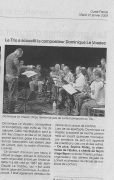 Ouest France 2009